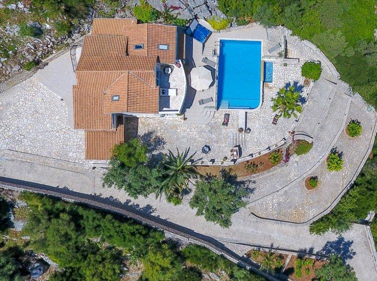 Overhead Villa View